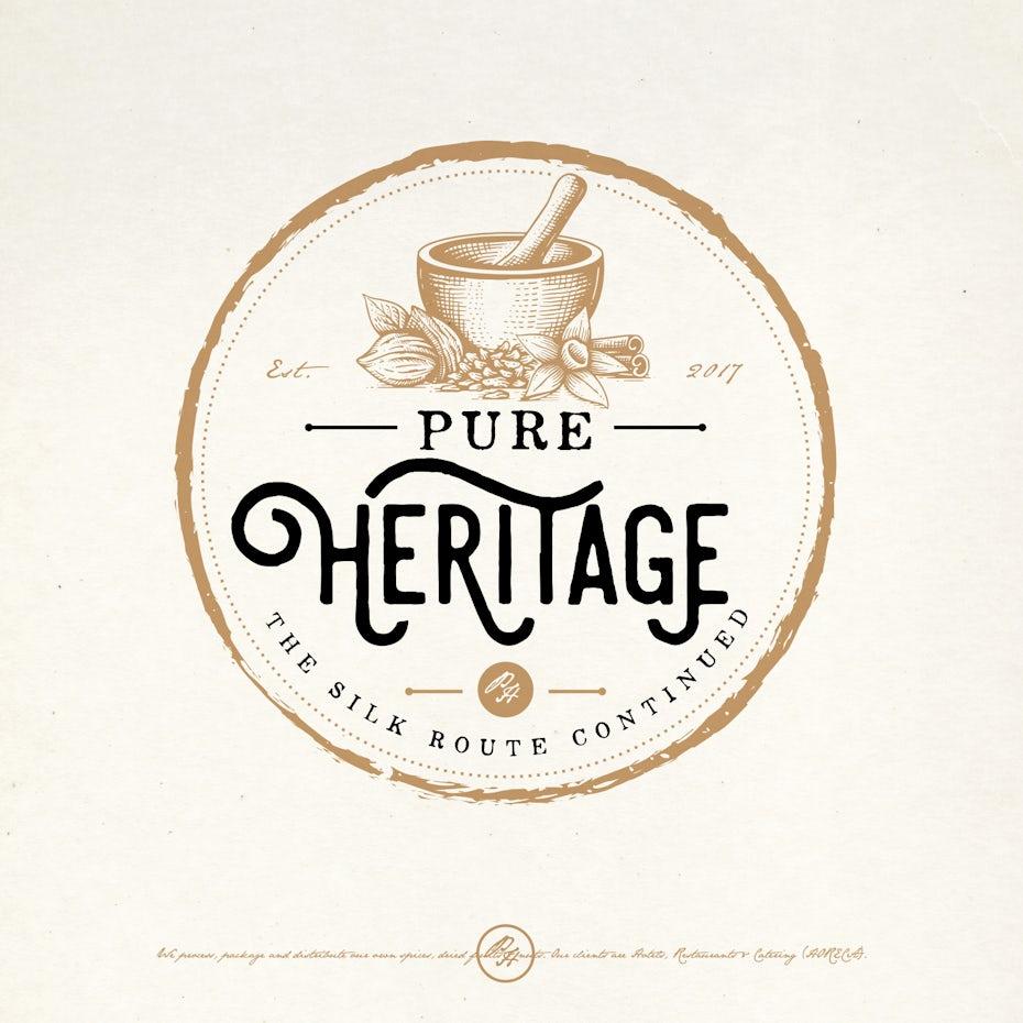 Pure Heritage logo