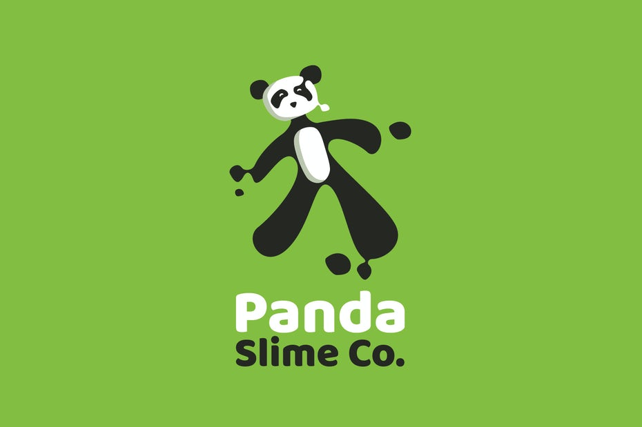 panda slime logo