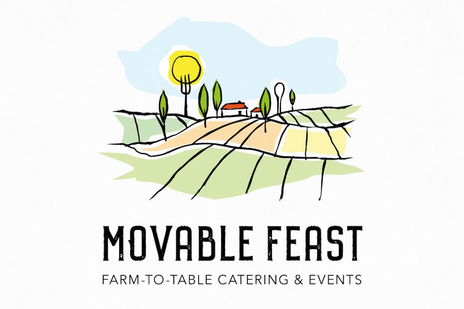Movable Feast catering logo