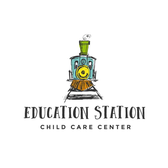 education station train logo