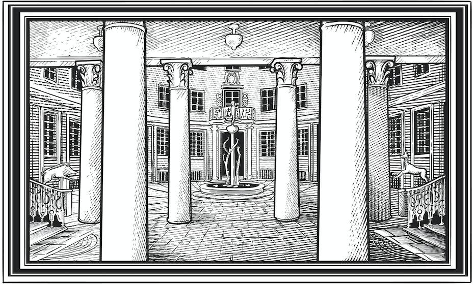 Building etching