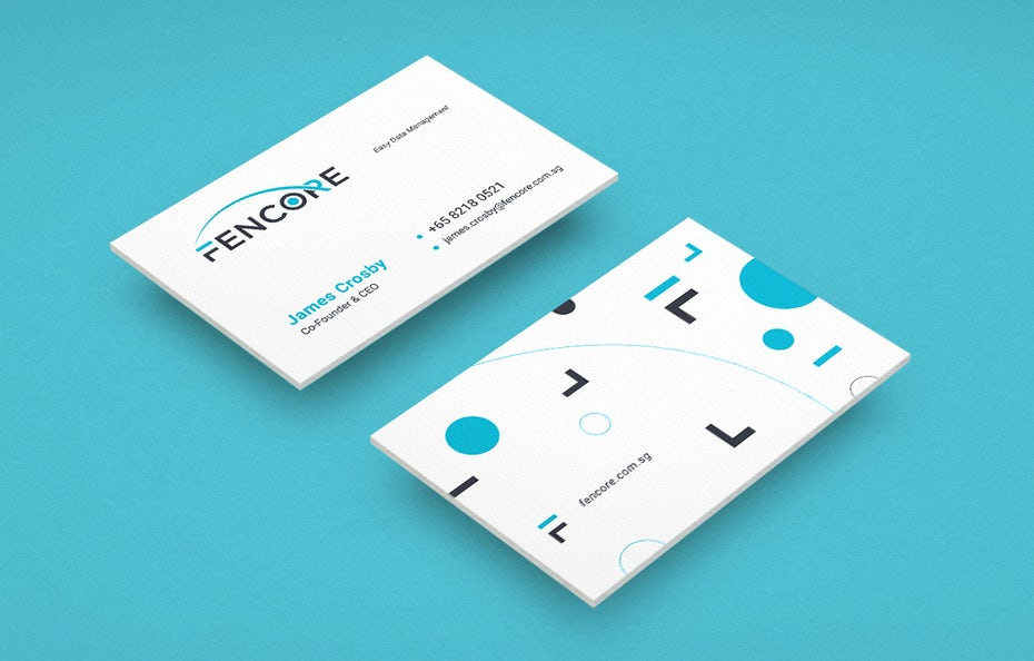 Fencore business cards