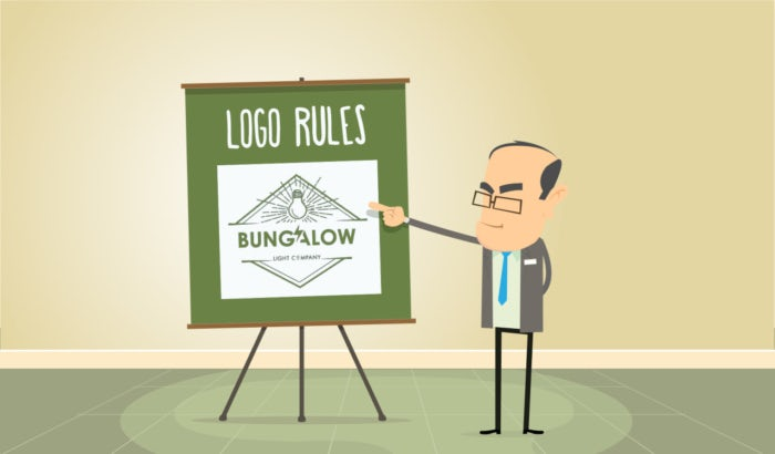 Logo design principles and rules