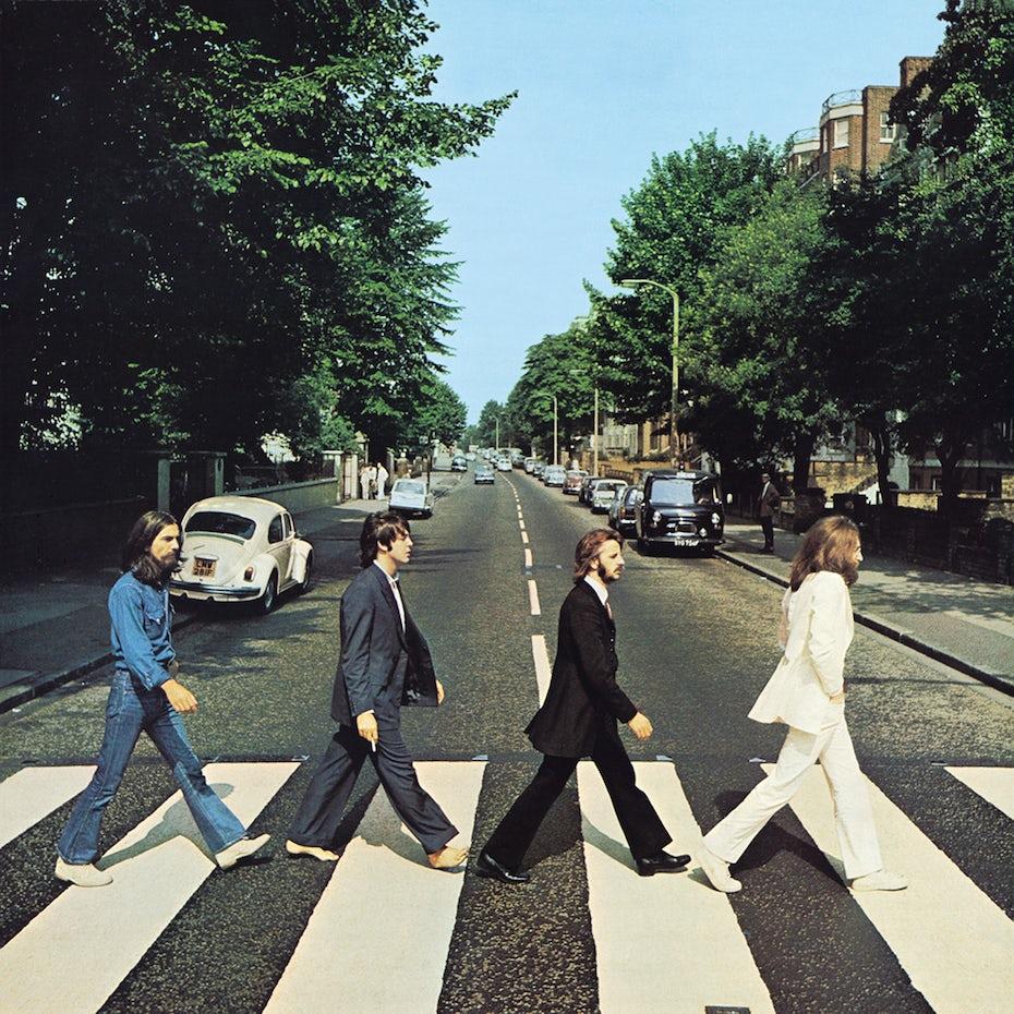 Portada del álbum Abbey Road