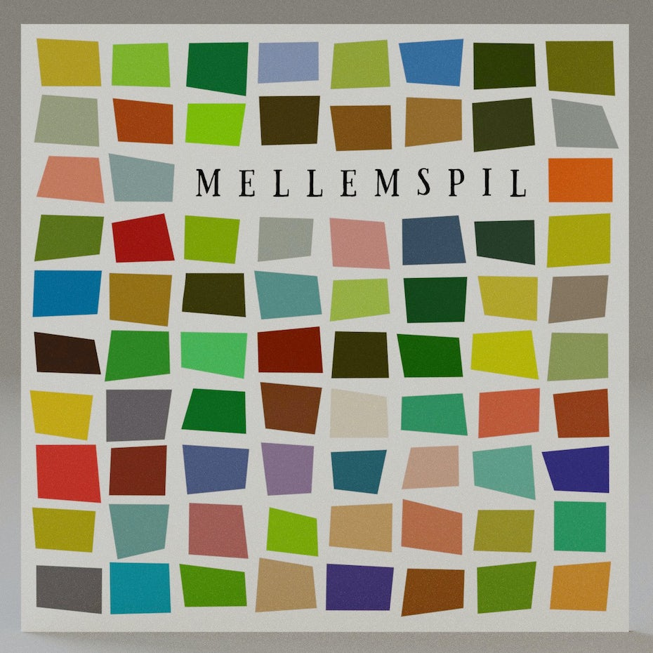 Mellemspil album cover
