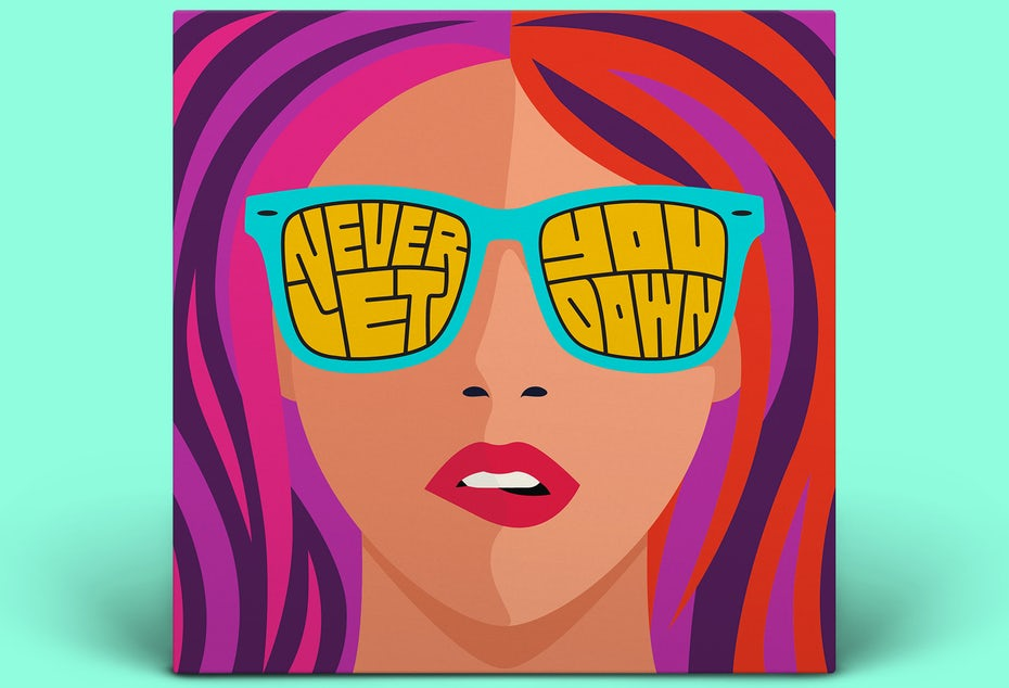 Never Let You Down album cover