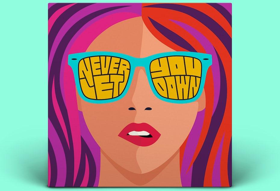 Portada del álbum Never Let You Down