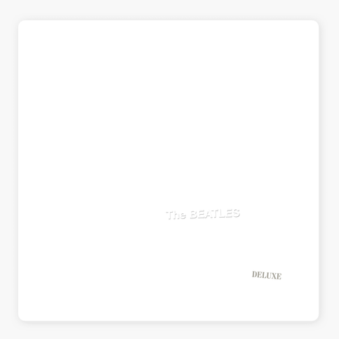 The White Album cover