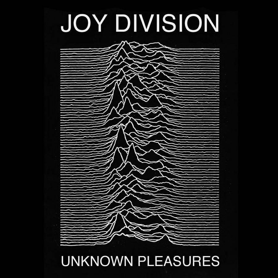 Joy Division's Unknown Pleasures album cover