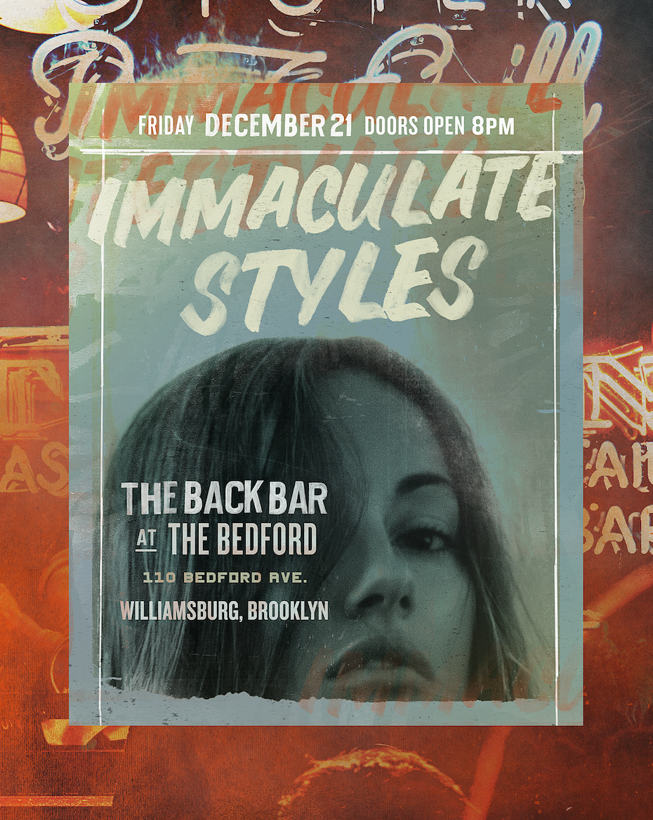 gritty posters for DJ Immaculate Styles