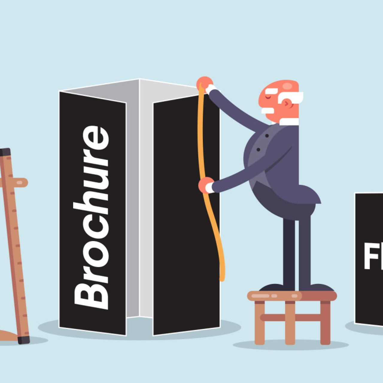 The complete guide to brochure and flyer sizes - 99designs