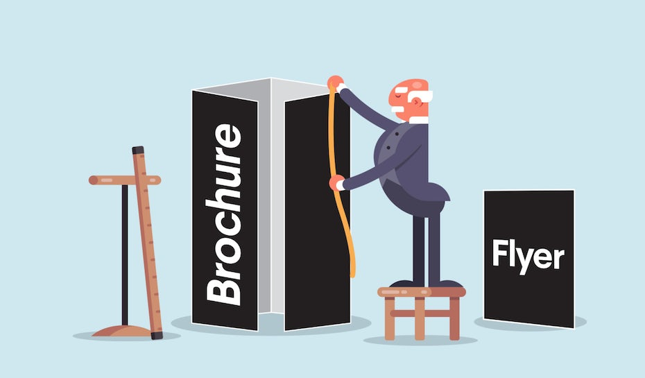 The complete guide to brochure and flyer sizes