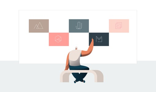 Neo-minimalism in graphic design