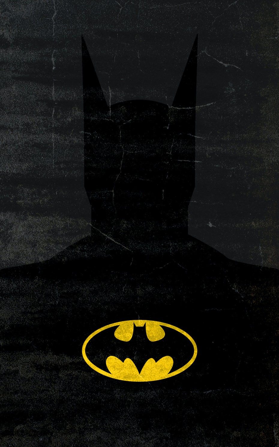 neo-minimalism Batman design