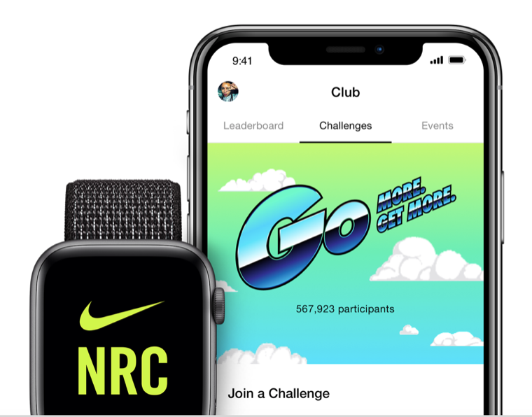 nike+ apple club run
