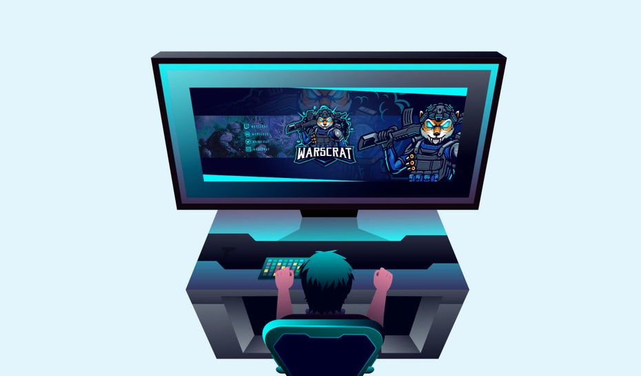 How to design an amazing twitch banner