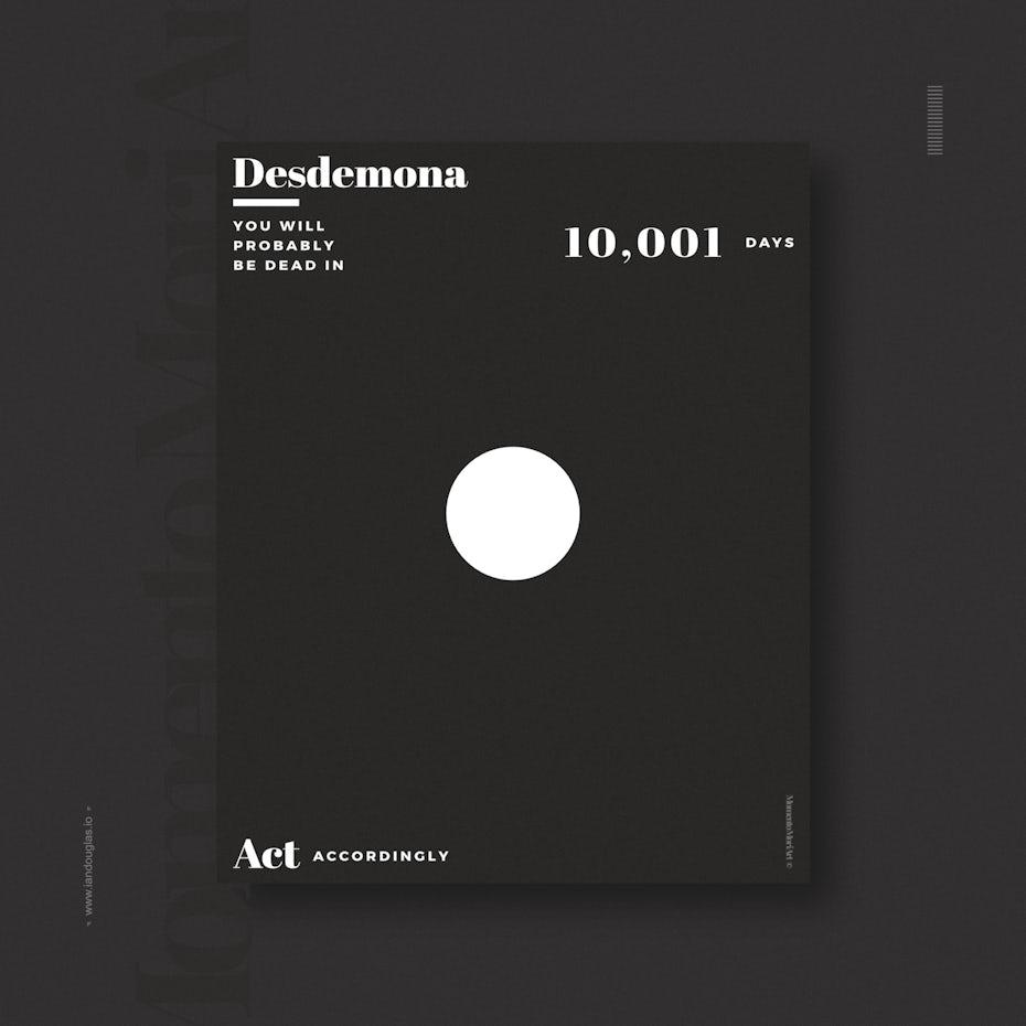 neo-minimalism poster design