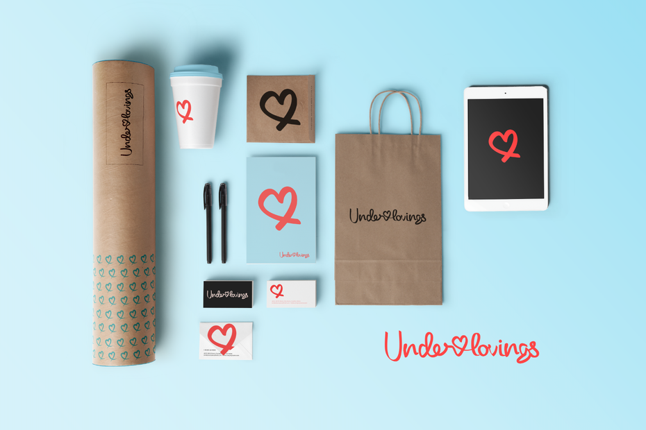Underlovings logo design