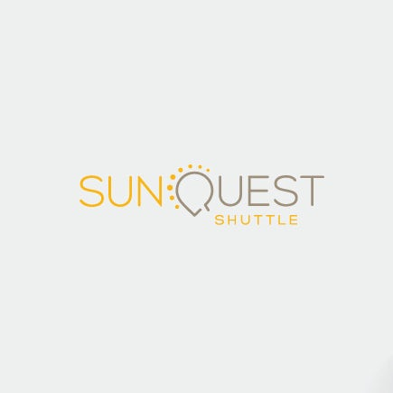 clever logotype with Q in shape of sun
