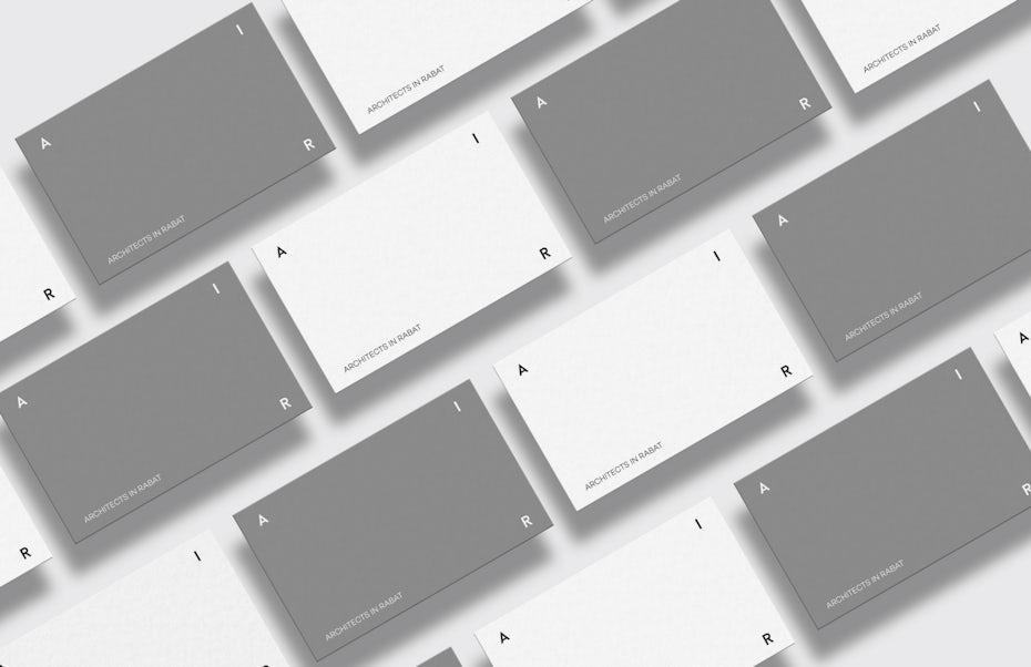 neo-minimalism brand identity pack design