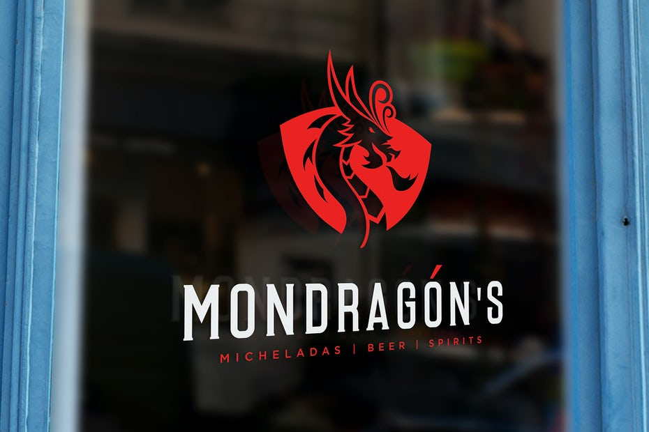 Mondragons logo design