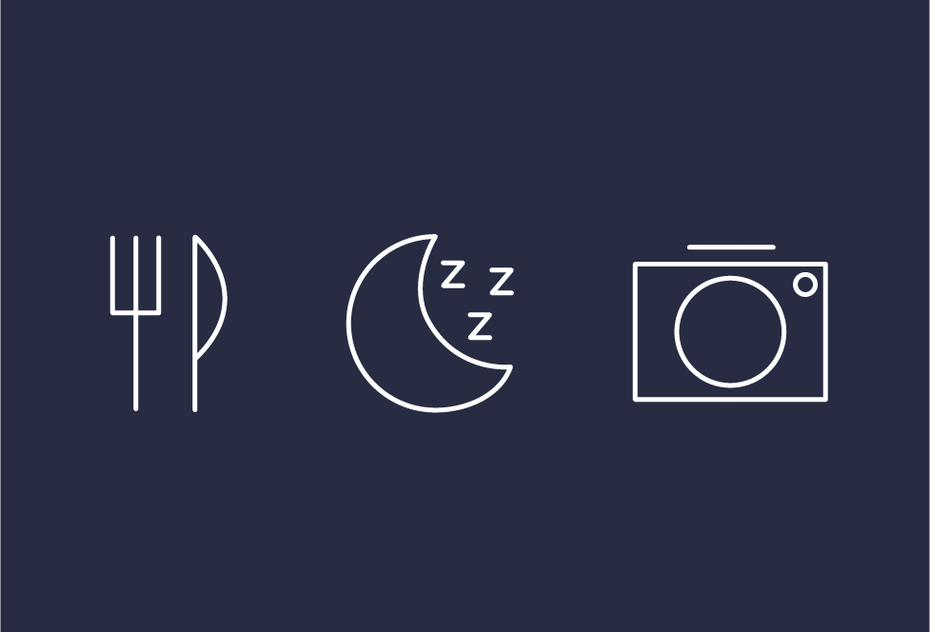 neo-minimalism icons