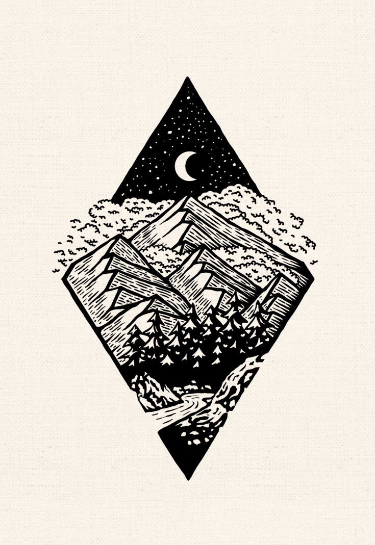 Into the wild illustration