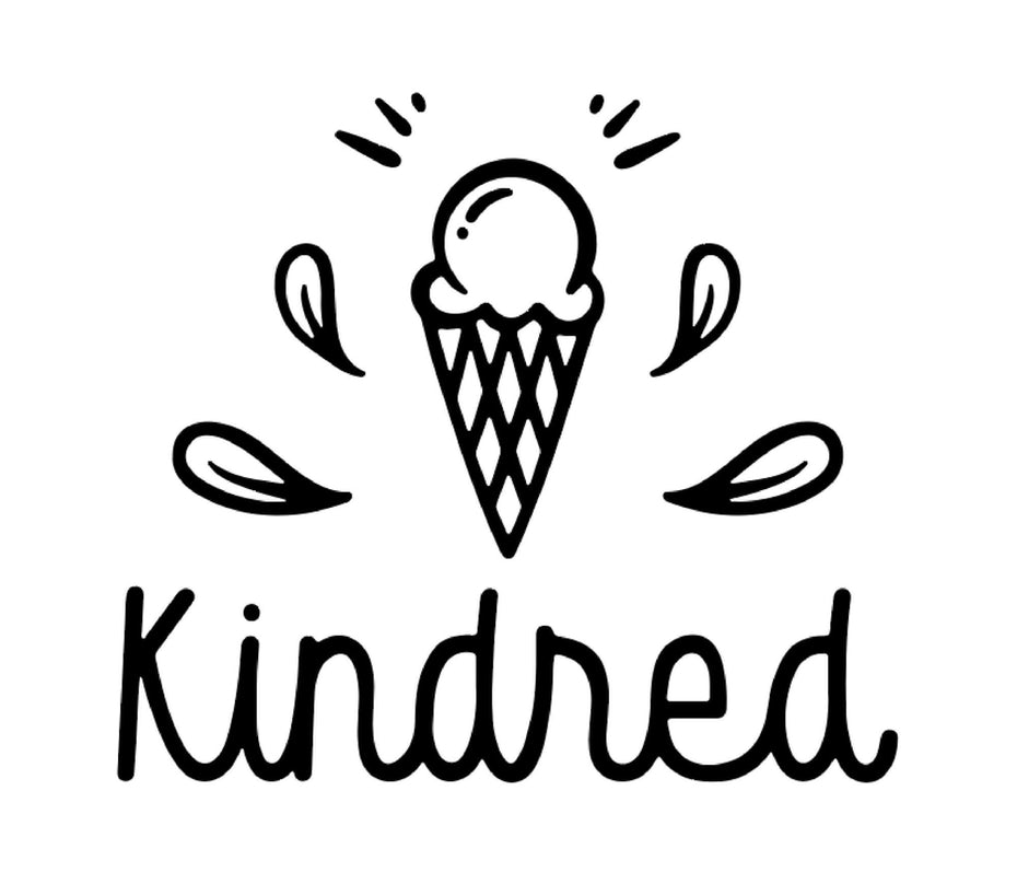 Kindred logo with softened edges