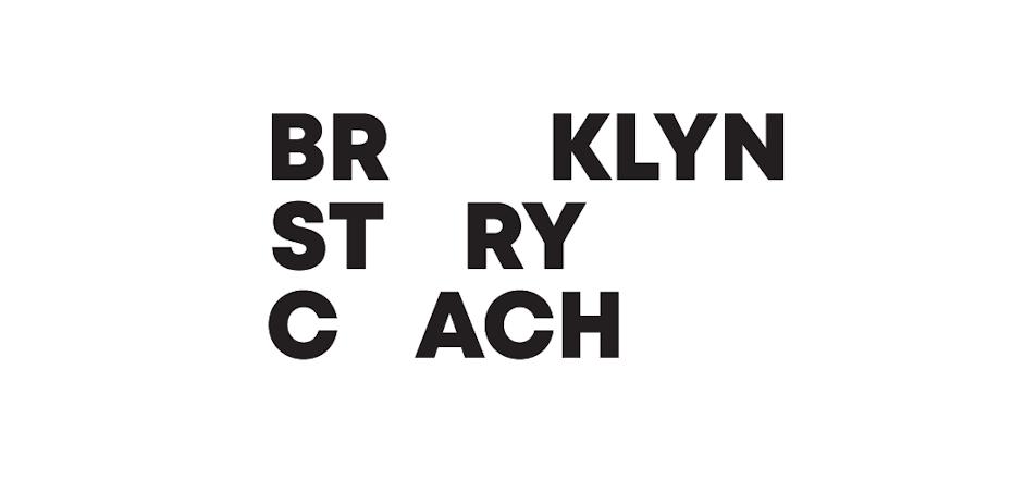 logo for brooklyn story coach