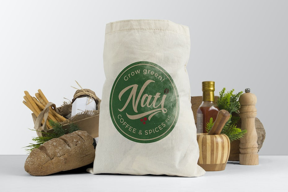 Nati coffee and spices logo