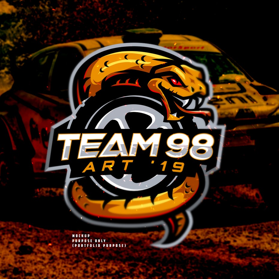 Team 98 logo