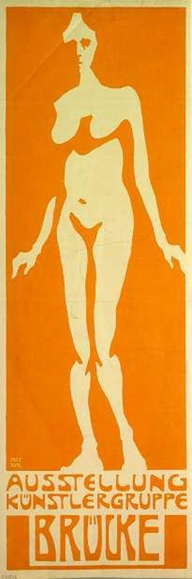 expressionism poster by Fritz Bleyl