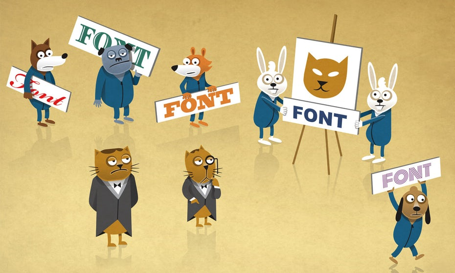How to choose the best font for your logo
