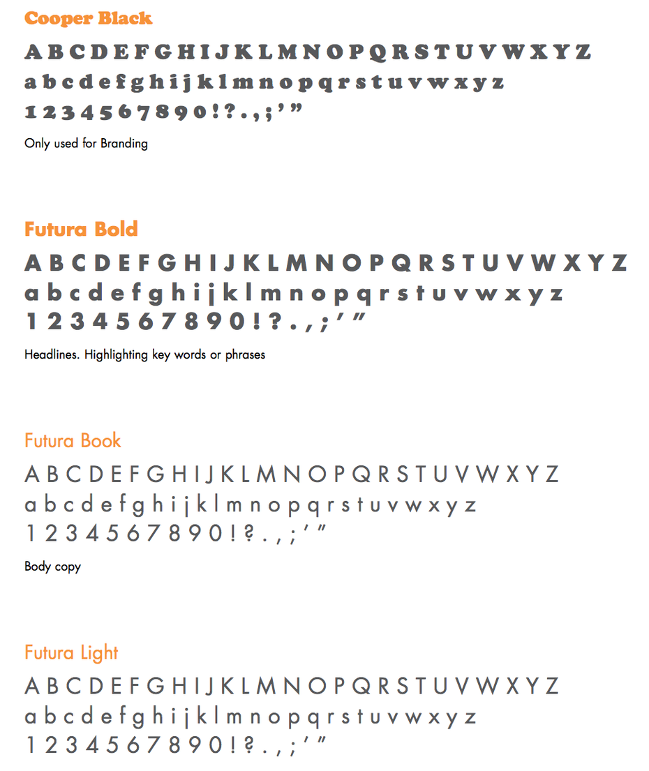 easyGroup typeface guide