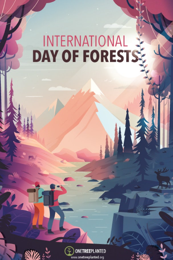 International Day of Forests poster