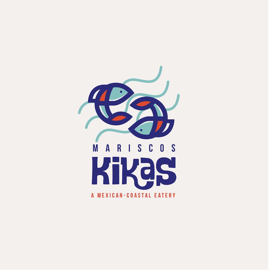 Seafood restaurant logo design