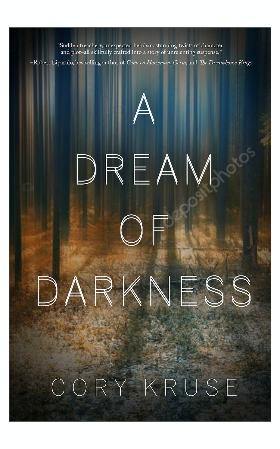 A dream of darkness book cover