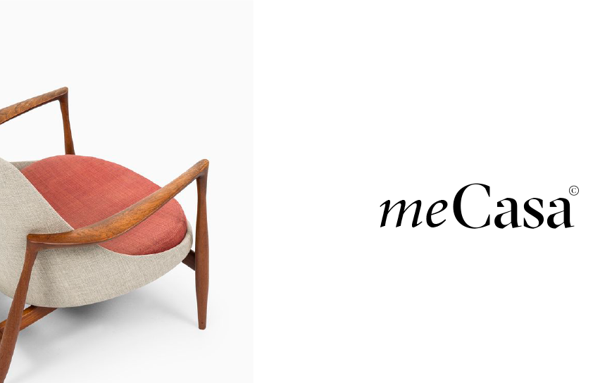 Example for a good logo: A typography based logo design for a furniture brand