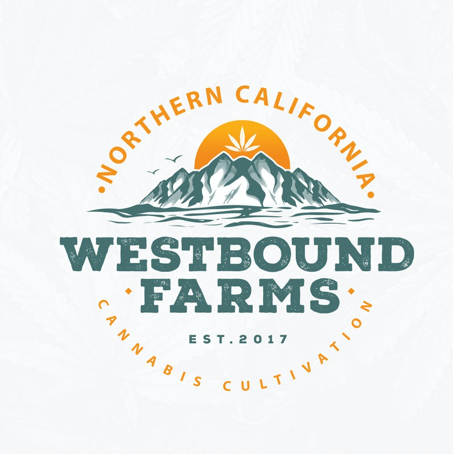 Westbound Farms logo with tagline