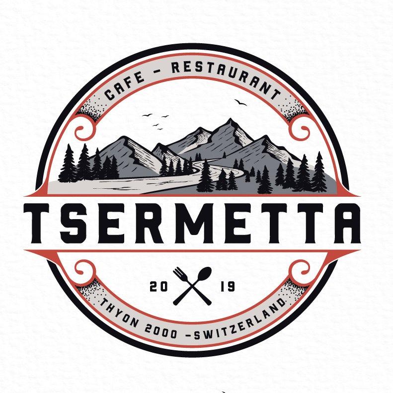 Rustic restaurant logo design