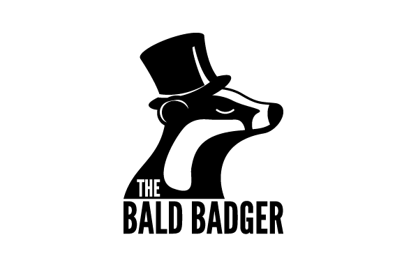 The Bald Badger logo