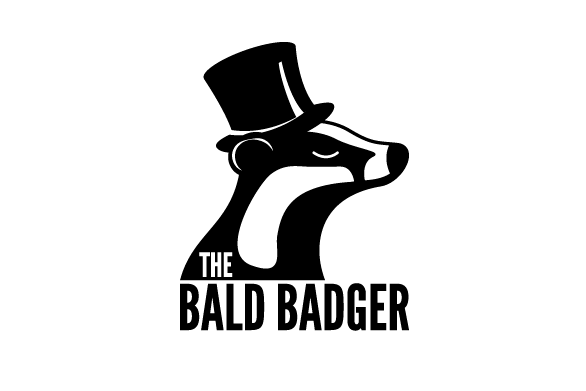 The Bald Badger logo