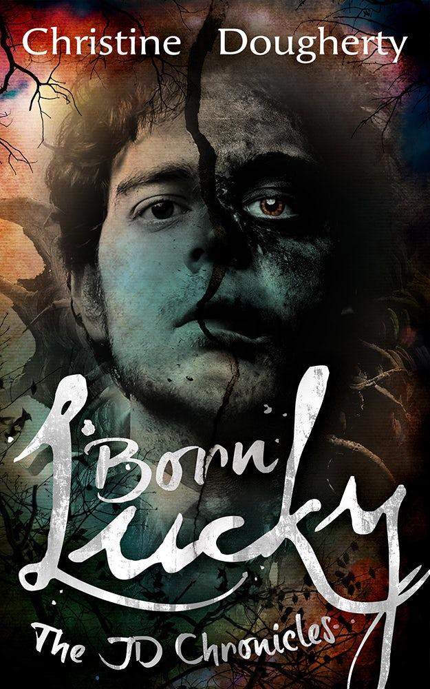 Born Lucky book cover
