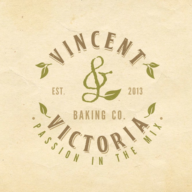logo for Vincent & Victoria