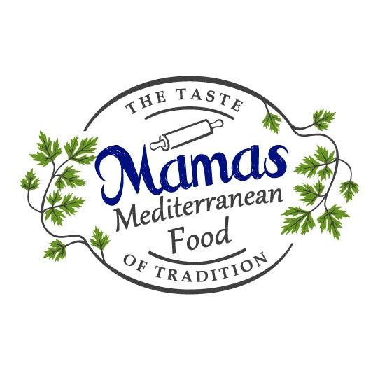 Mama's Mediterranean Food logo design