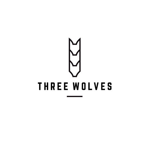 Three Wolves logo