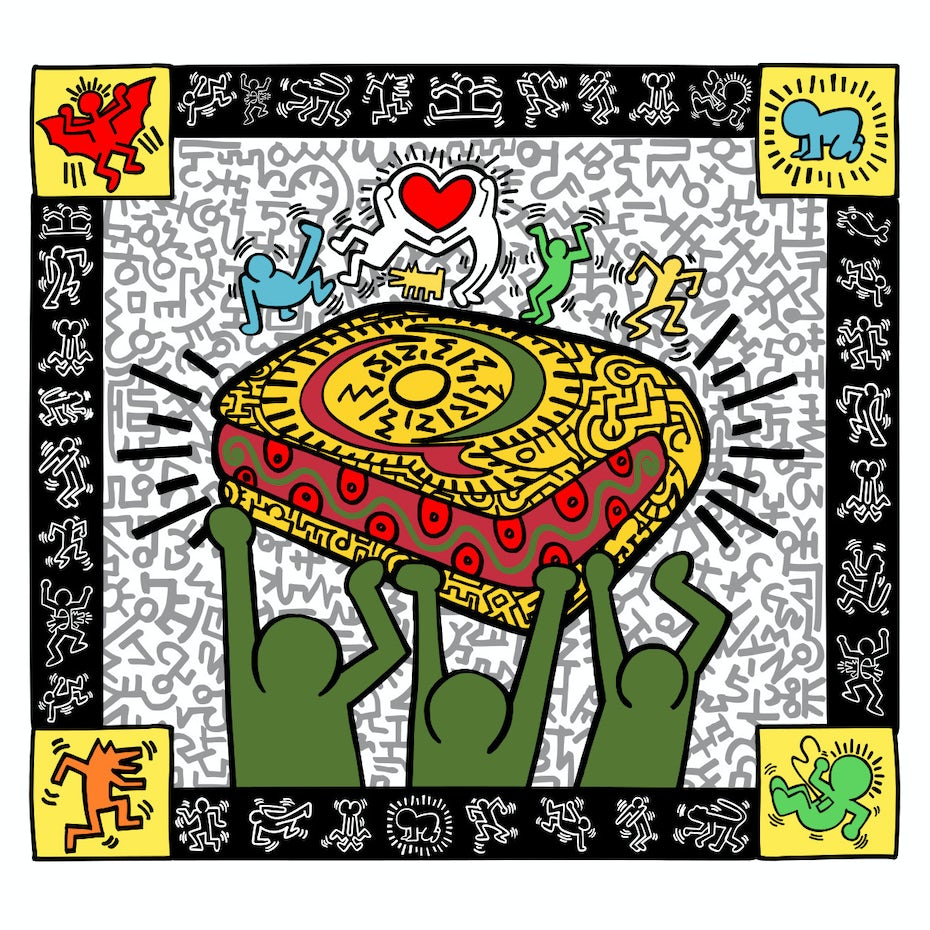 Keith Haring for Sandwich