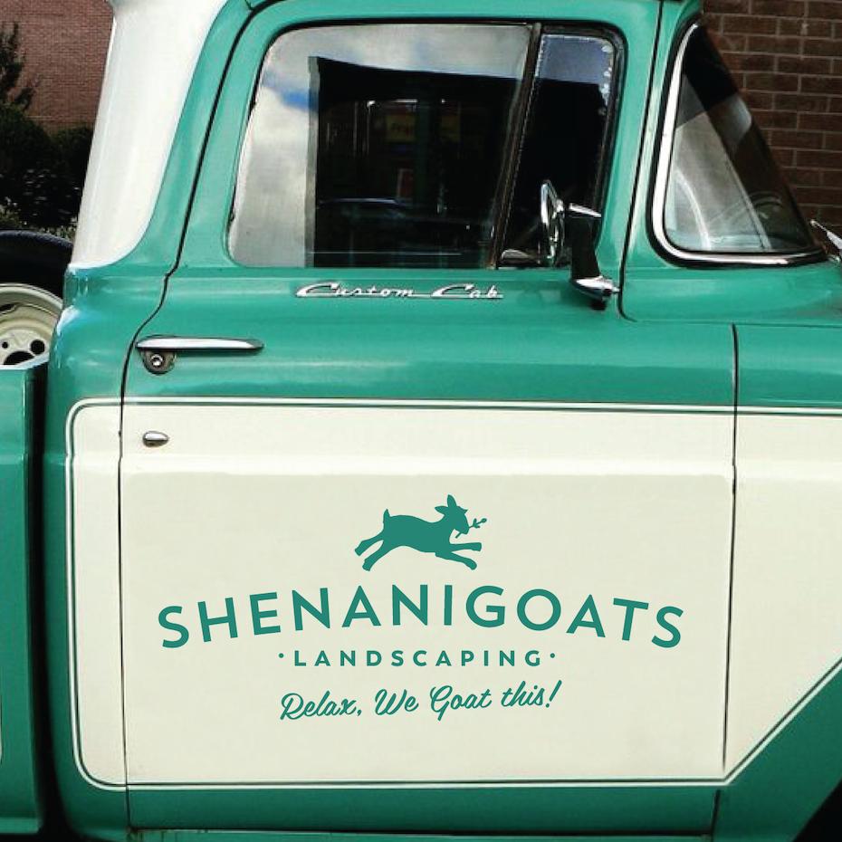 Shenanigoats Landscaping logo