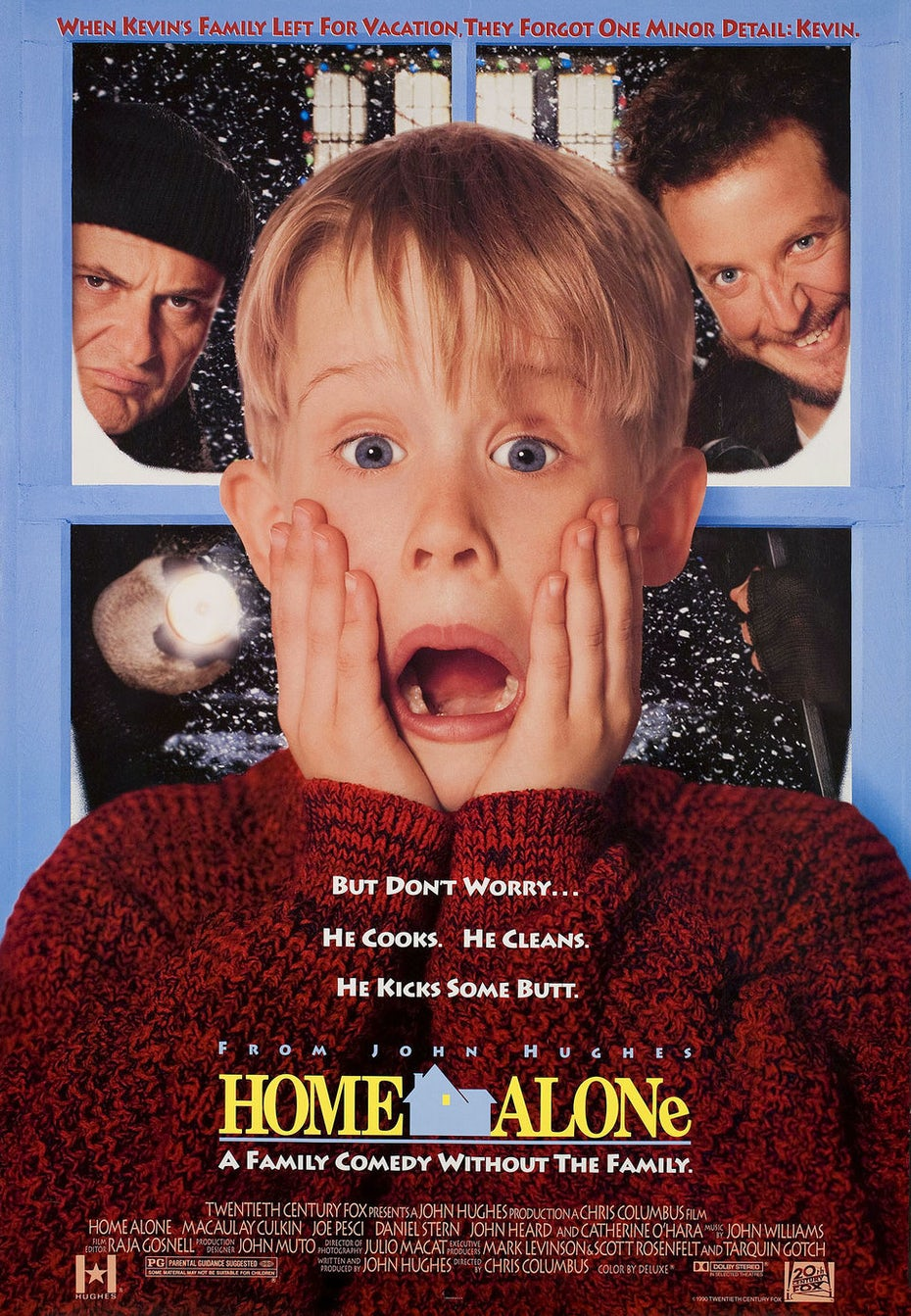 Home Alone Home Alone expressionism influenced poster