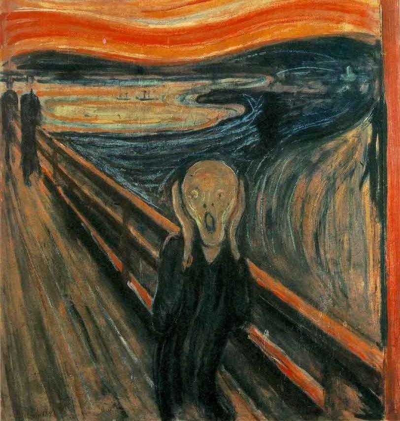Edvard Munch's expressionist masterpiece, The Scream